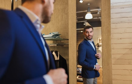 Psychological ownership comes from trying on clothes