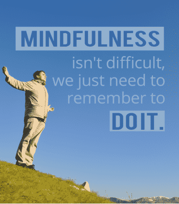 Mindfulness quotation