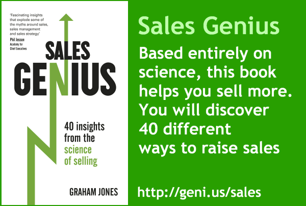 Sales Genius Book Cover