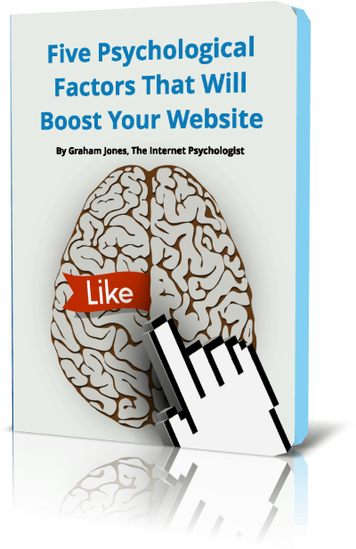 Book cover - Five Psychological Factors to Boost Your Website