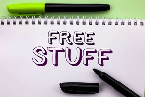Free stuff and value
