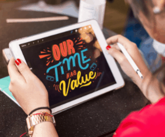 Personal productivity and online productivity concept