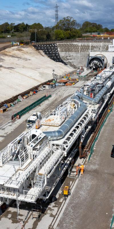 HS2 Tunnel Boring Machine