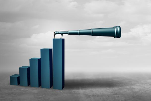 Business forecasting concept