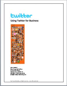 Understanding Twitter for business