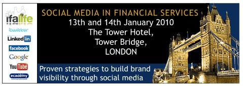 Ecademy. Google, The BBC and top Internet Psychologist to speak at Financial Services in Social Media conference