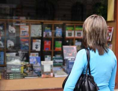 "Book shops still represent an ""old fashioned"" way of doing business"