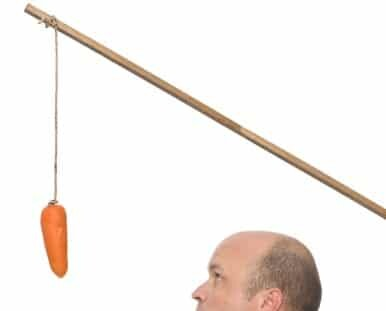 Carrot or stick? Rewards achieve far more than punishment