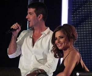 Cheryl Cole and Simon Cowell