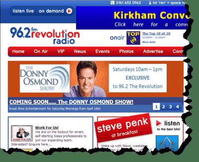Donny Osmond to appear on UK Radio