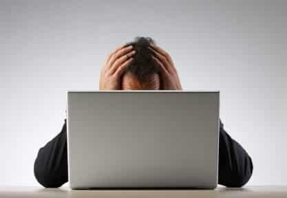 Feeling forced to blog will work against your online business