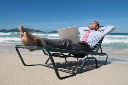You may want a holiday, but you may need to get used to working while you are away