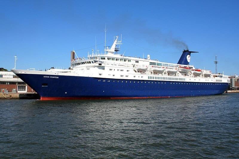 The Ocean Countess Cruise Ship