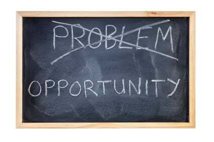 Does your business face problems or opportunities?