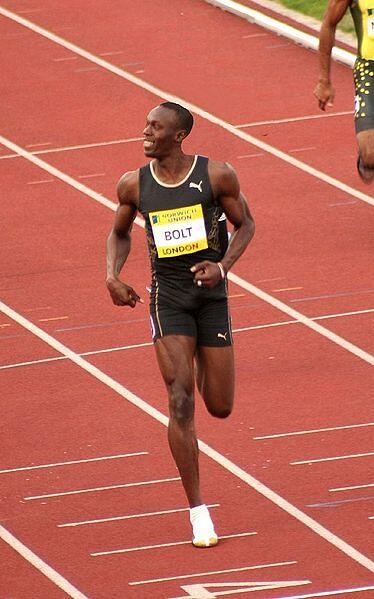 Usain Bolt - fast, but slow compared to web sites